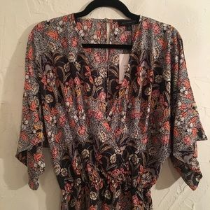 NWT Floral Romper